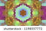 geometric design  mosaic of a... | Shutterstock .eps vector #1198557772