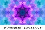 geometric design  mosaic of a... | Shutterstock .eps vector #1198557775