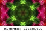 geometric design  mosaic of a... | Shutterstock .eps vector #1198557802