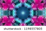 geometric design  mosaic of a... | Shutterstock .eps vector #1198557805