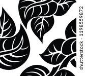 vector seamless floral pattern... | Shutterstock .eps vector #1198559872