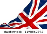 waving flag of the great... | Shutterstock . vector #1198562992