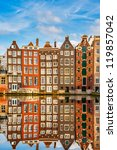 Traditional Dutch Buildings On...