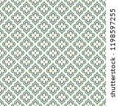 oriental traditional pattern.... | Shutterstock .eps vector #1198597255
