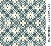oriental traditional pattern.... | Shutterstock .eps vector #1198597258