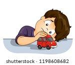 illustration of a kid boy... | Shutterstock .eps vector #1198608682