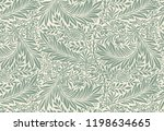 larkspur by william morris ... | Shutterstock .eps vector #1198634665
