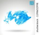blue brush stroke and texture....   Shutterstock .eps vector #1198652998