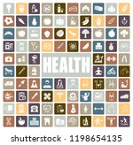 health icons set | Shutterstock .eps vector #1198654135