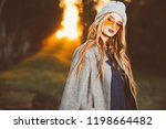 autumn fashion. fashionable... | Shutterstock . vector #1198664482