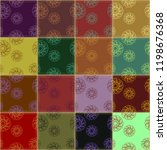 patchwork background with... | Shutterstock .eps vector #1198676368
