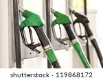 detail of a fuel pump in a gas... | Shutterstock . vector #119868172