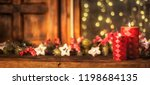 christmas and new year holidays ...   Shutterstock . vector #1198684135