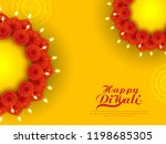 vector illustration or greeting ... | Shutterstock .eps vector #1198685305