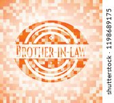 brother in law abstract emblem  ... | Shutterstock .eps vector #1198689175