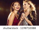 Happy Beautiful Women Singing...