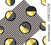 background with black and gold... | Shutterstock .eps vector #1198712278