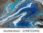 gold marbling texture design.... | Shutterstock . vector #1198722442