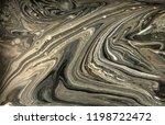 gold marbling texture design.... | Shutterstock . vector #1198722472