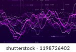 stock market graph. big data... | Shutterstock . vector #1198726402