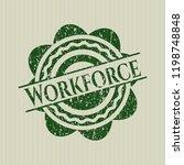 green workforce distressed... | Shutterstock .eps vector #1198748848