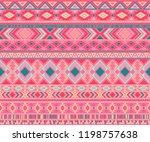 peruvian american indian... | Shutterstock .eps vector #1198757638