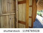 the building is made of bamboo | Shutterstock . vector #1198785028
