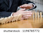 wooden game strategy ... | Shutterstock . vector #1198785772