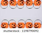 jack o' lantern halloween... | Shutterstock . vector #1198790092