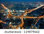 nightlife in bangkok  capital... | Shutterstock . vector #119879662
