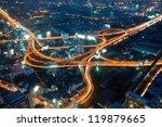 night in bangkok   the capital... | Shutterstock . vector #119879665