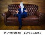 Funny Unicorn In Elegant Suit...