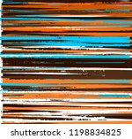 grunge abstract stripes... | Shutterstock .eps vector #1198834825