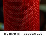 close up macro texture of red...   Shutterstock . vector #1198836208