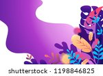 vector illustration of page... | Shutterstock .eps vector #1198846825