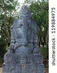 ganesha statue | Shutterstock . vector #119884975