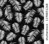 seamless pattern with tropical... | Shutterstock .eps vector #1198851268