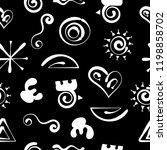 aztecs seamless pattern  paper...   Shutterstock .eps vector #1198858702