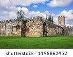 pisa city walls  erected in... | Shutterstock . vector #1198862452