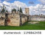 pisa city walls  erected in... | Shutterstock . vector #1198862458