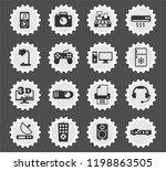 electronics supermarket web... | Shutterstock .eps vector #1198863505