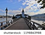 a castle in austria surrounded...   Shutterstock . vector #1198863988