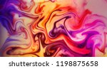 marble background  ink on... | Shutterstock . vector #1198875658