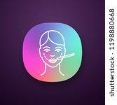cheek lift surgery app icon....