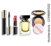 vector makeup cosmetics set... | Shutterstock .eps vector #1198889332