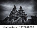 seashore temple located in... | Shutterstock . vector #1198898728