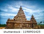 seashore temple located in... | Shutterstock . vector #1198901425