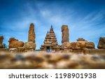 seashore temple located in... | Shutterstock . vector #1198901938