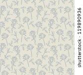 rose seamless background | Shutterstock .eps vector #119890936