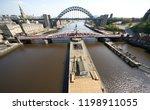 newcastle upon tyne  england ... | Shutterstock . vector #1198911055